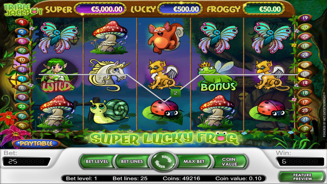Super Lucky Frog 2