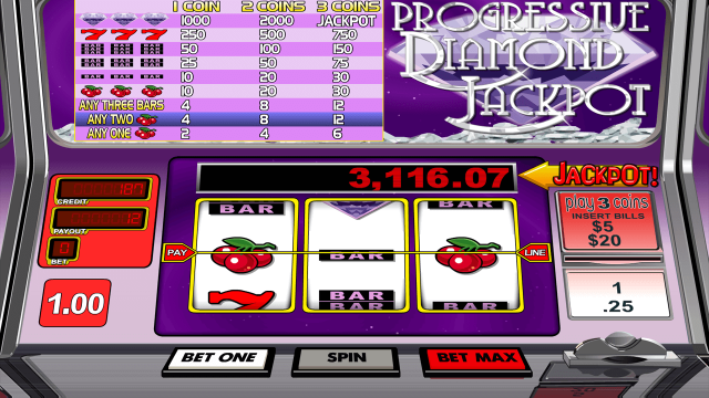 Progressive Diamond Jackpot 10