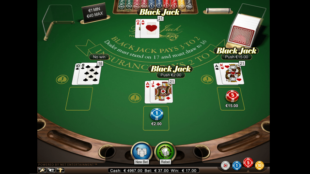 Blackjack Professional Series 7