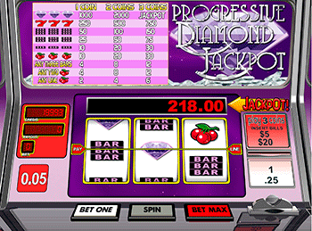Progressive Diamond Jackpot 1